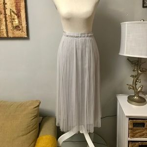 Banana Republic Light Gray Tool Skirt- NWT